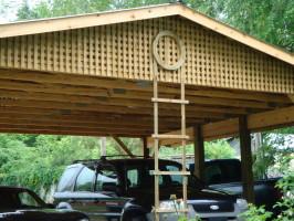 Pictures for Trellis carport
